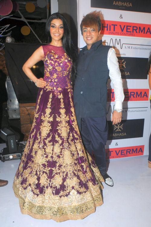 6. Rohhit Verma with Koena Mitra DSC_1543