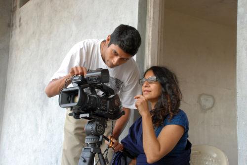 nisha behind the cam