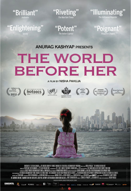 The World Before Her - Poster for Press Kit