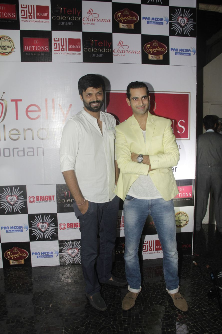 01Sunny Arora and Anand Mishra @Telly Calendar announcement party