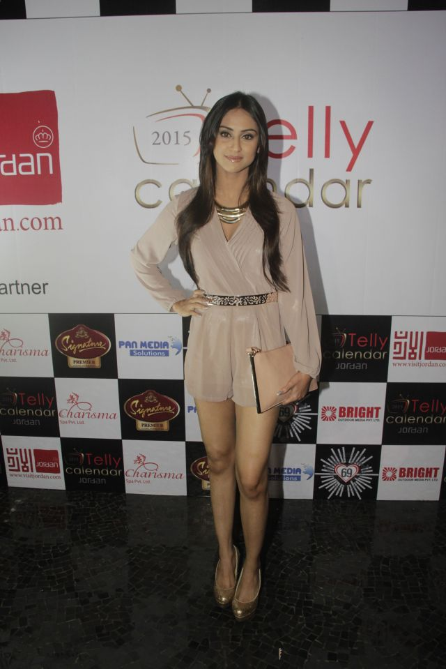 02Krystle D'souza @Telly Calendar announcement party