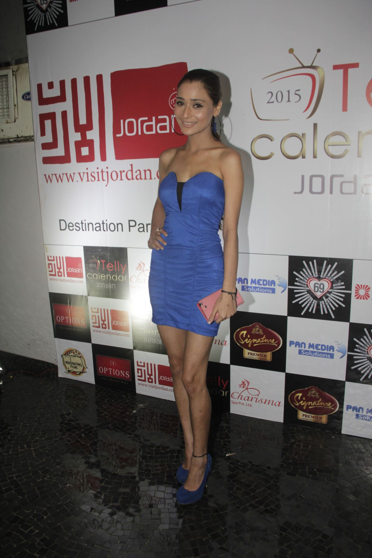 03Sara Khan@Telly Calendar announcement party