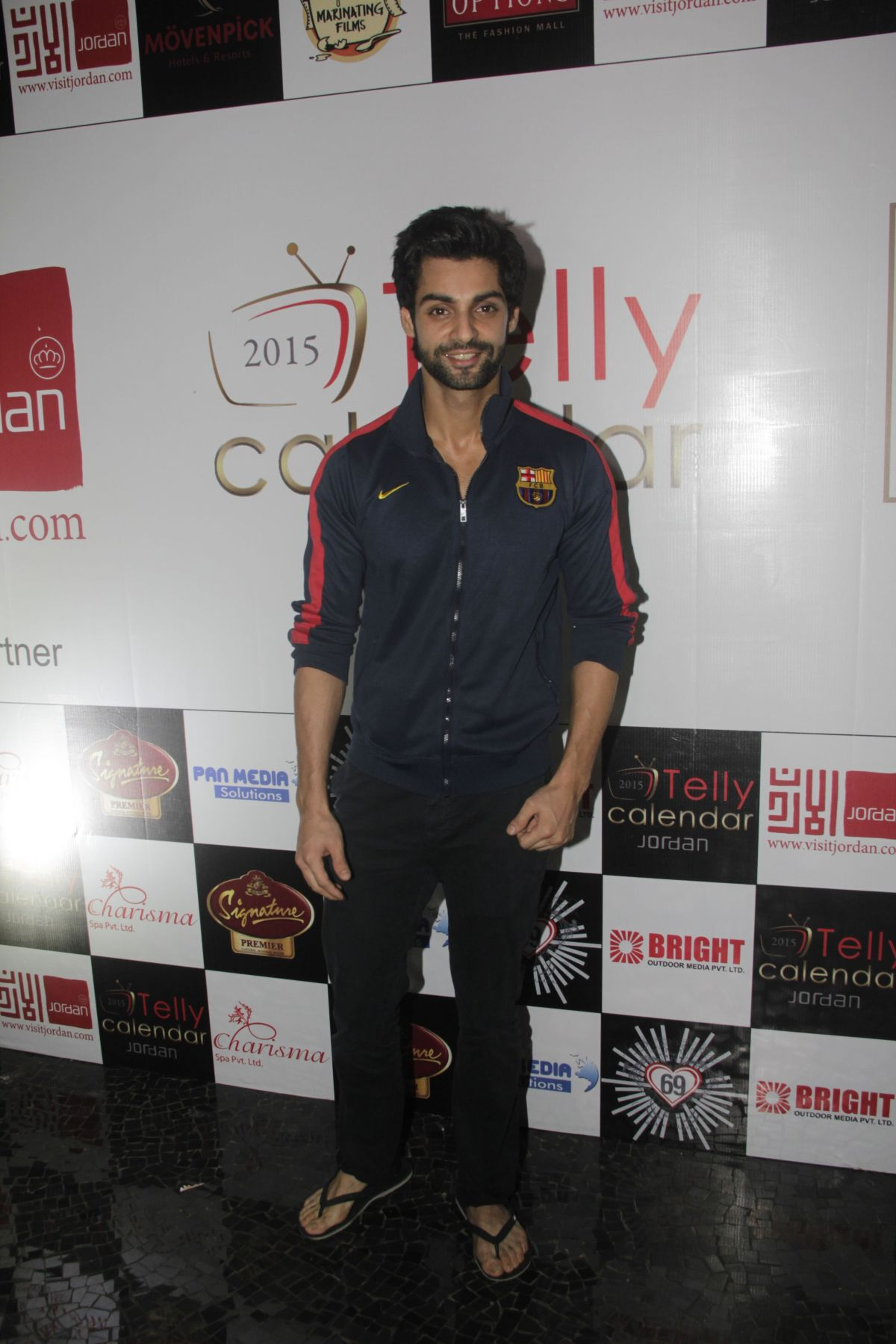05Karan Wahi @Telly Calendar announcement party