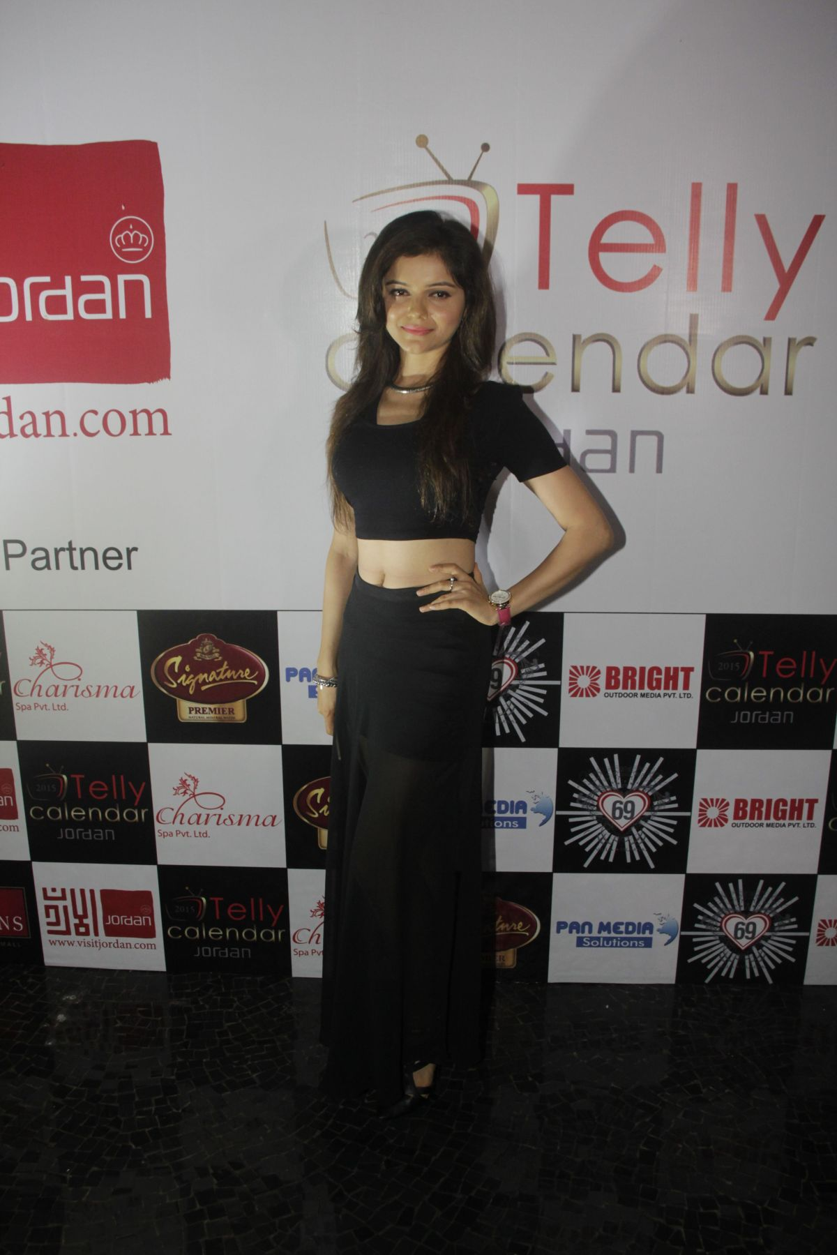 07Rubina Dilaik @Telly Calendar announcement party