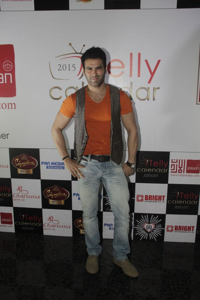 08Amit Verma@Telly Calendar announcement party