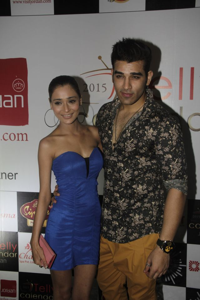 22Sara Khan and Paras Chhabra @Telly Calendar announcement party