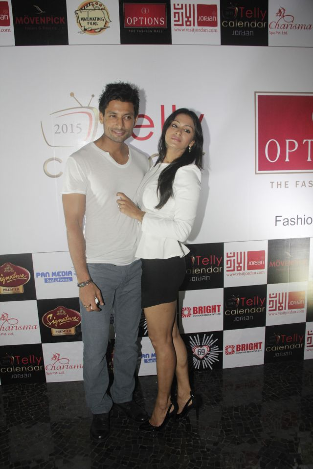 23Barkha Bisht and Indraneil Sengupta@Telly Calendar announcement party