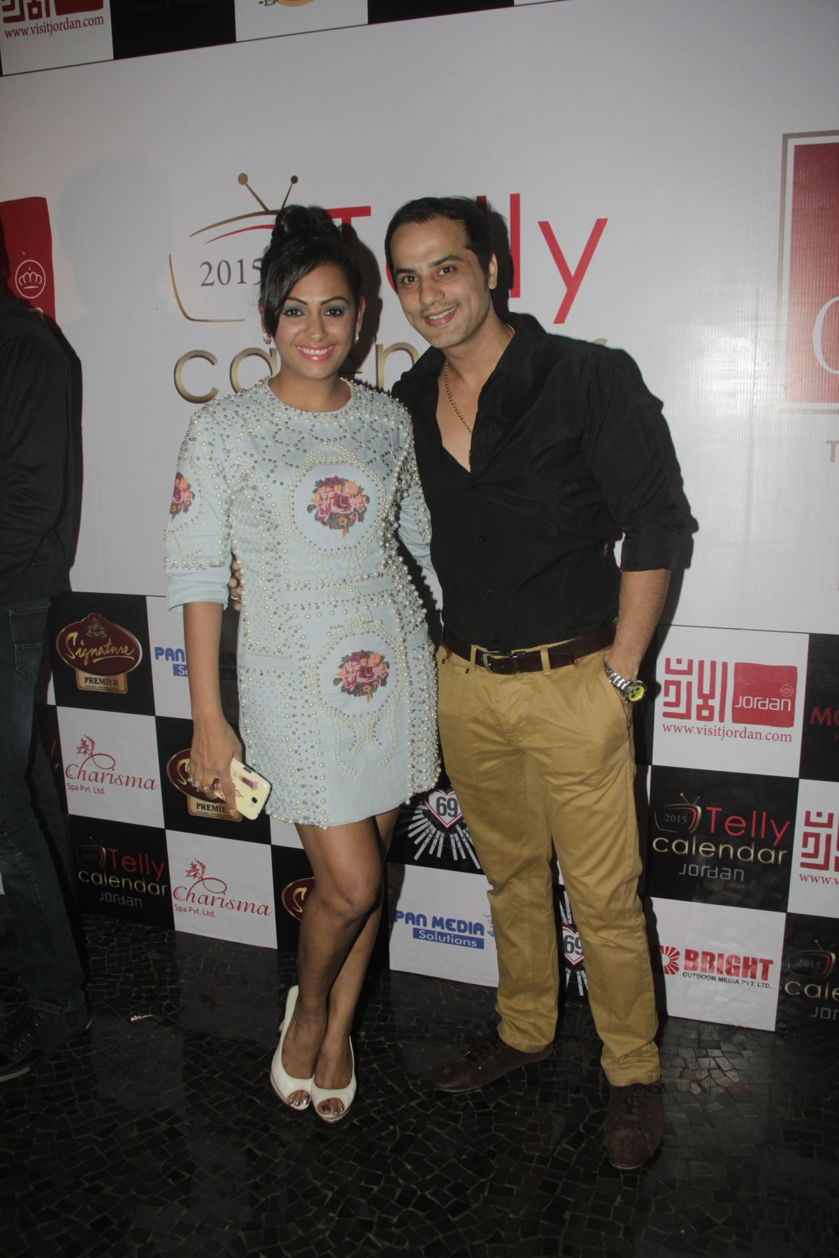 24Ashita Dhawan and Shailesh Gulabani @Telly Calendar announcement party