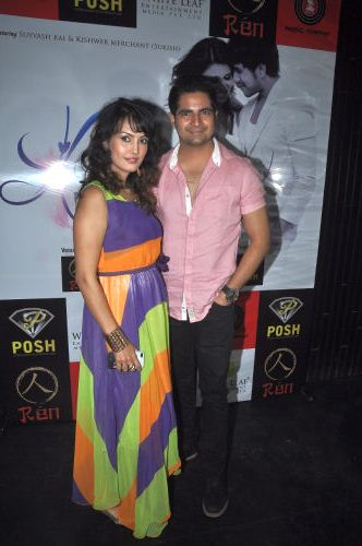Nisha and Karan Mehra