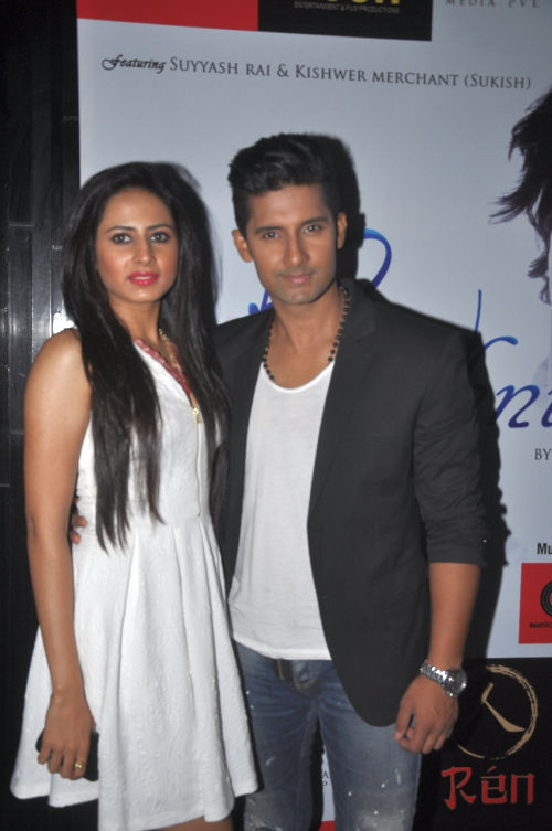Sargun and Ravi Dubey