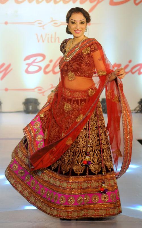 13. Madhurima Nigam walking the ramp  for Designer Amy Billimoria   DSC_2176