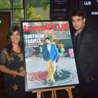 Vivian Dsena launches Magazine Cover for Travel magazine