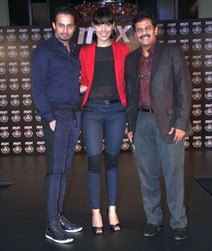 Gaviin Miguel & Dipti Gujral with MAX Executive Director Vasanth Kumar