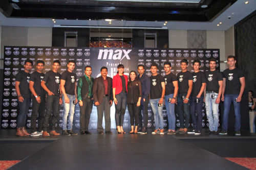 Selected 10 Boys with the judges