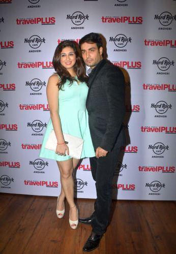 Vivian Dsena with wife Vahbiz Dorabjee
