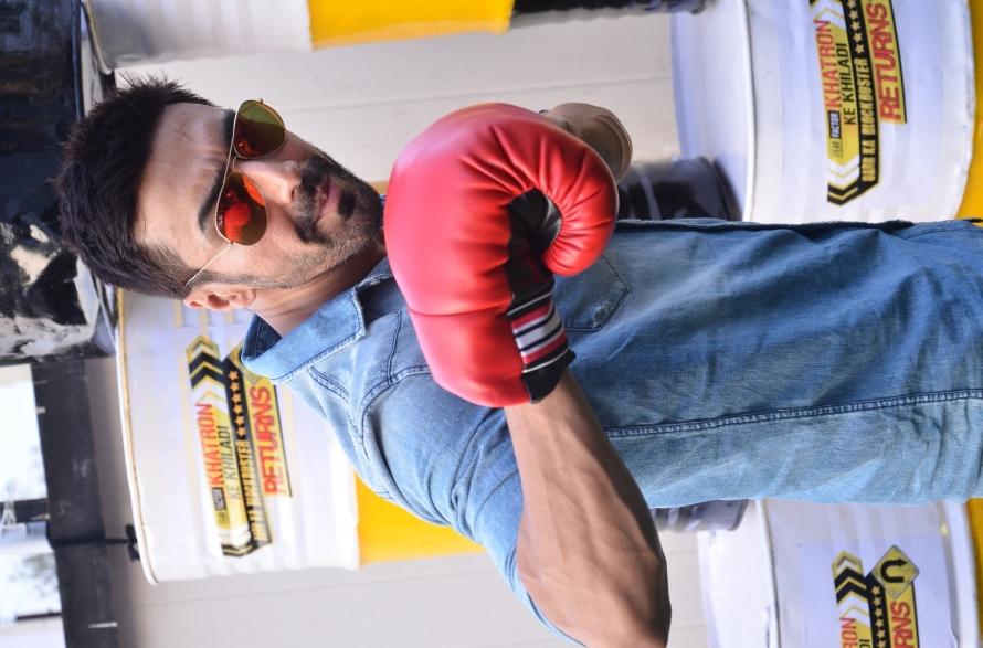Contestant Aashish Chaudhry at the Khatron Ke Khiladi 6 pre-launch (11)