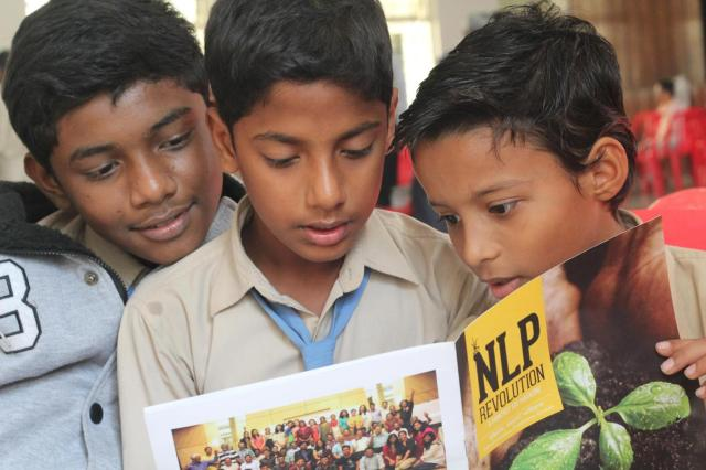 Children curious to know more about the Interventions they just went through - Reading SOE NLP Revolution Magazine