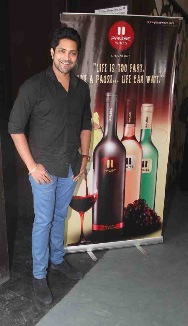 ​Aniket Vishwasrao at wine tasting evening by Pause Wines in Juhu