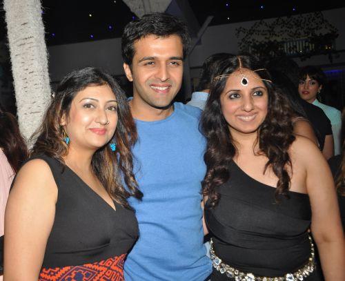 Juhi Parmar, Sachin Shroff and Monisha