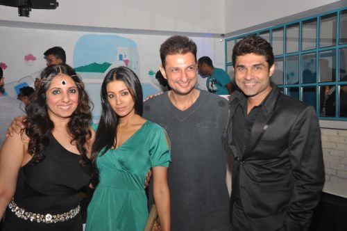 Monisha, Barkha bisht, Rushad Rana and Mazhar Sayyed