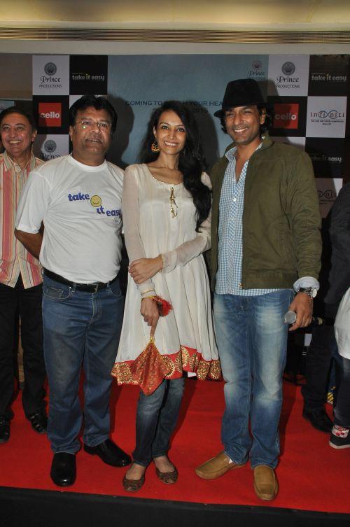 Producer Dharmesh Pandit, Dipannita Sharma and Director Sunil Prem Vyas