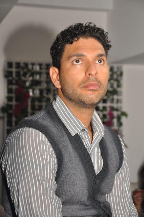 Yuvraj Singh at Kipos 2