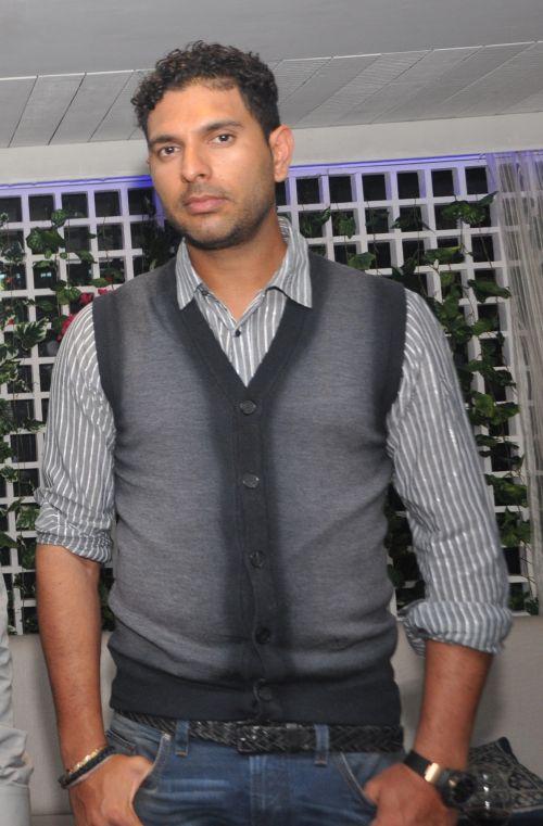 Yuvraj Singh at Kipos