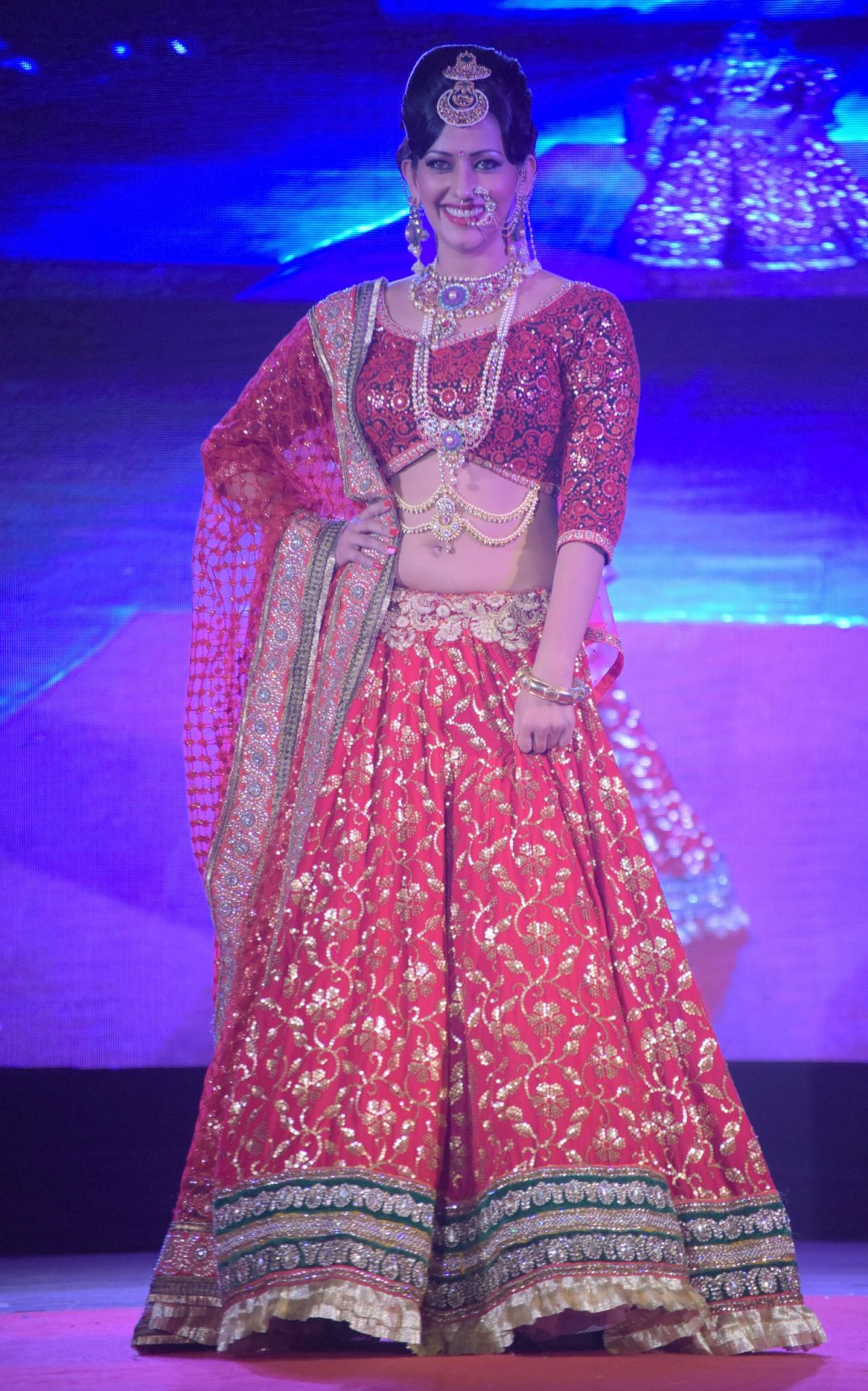 13. Sanjana Singh on the Ramp DSC_5262