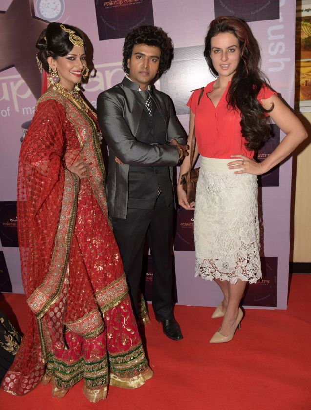 5. Sanjana Singh, Anurag Jaiswal with Elena Kazan DSC_5465