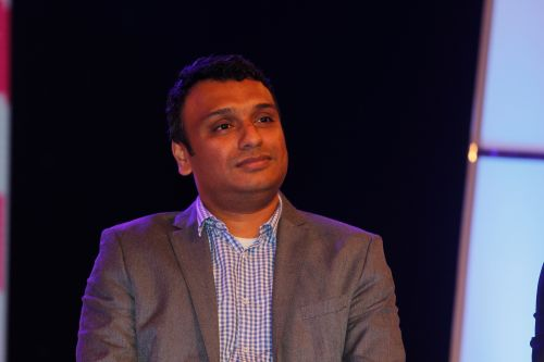 Rajesh Iyer, Business Head - &TV at the launch of two new shows