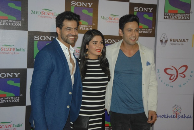 Actor Himmanshoo Mehta, Pooja Gor and Sahil Anand