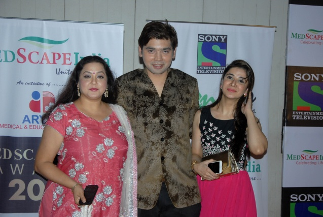 Actress Surbhi Tiwari, Vivek Mishra and Muskan Nancy James