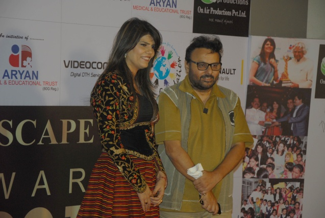 Dr. Sunita Dube and director Anil Sharma