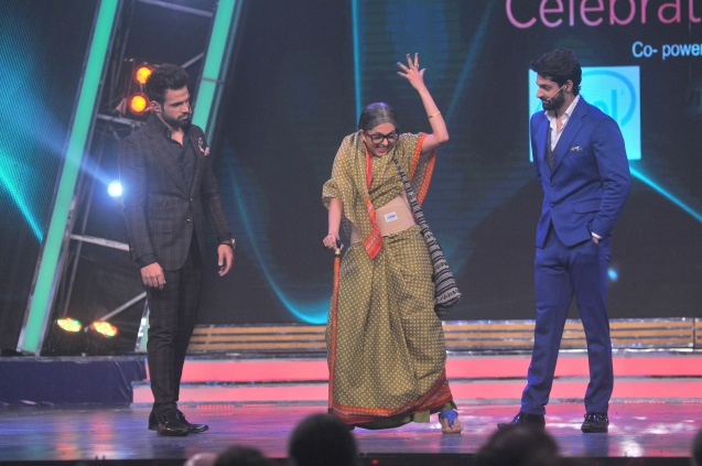 Ritvik Dhanjani, Sugandha Mishra and Karan Wahi