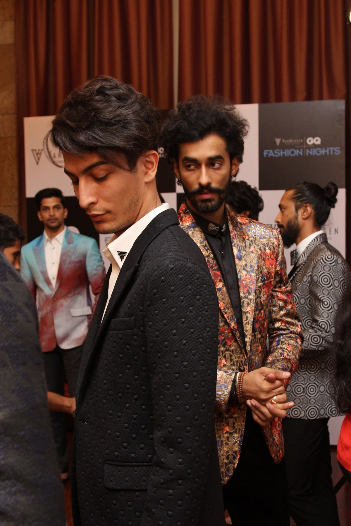 Troy Costa at Day  1 fittings for Van Heusen + GQ Fashion Nights _1
