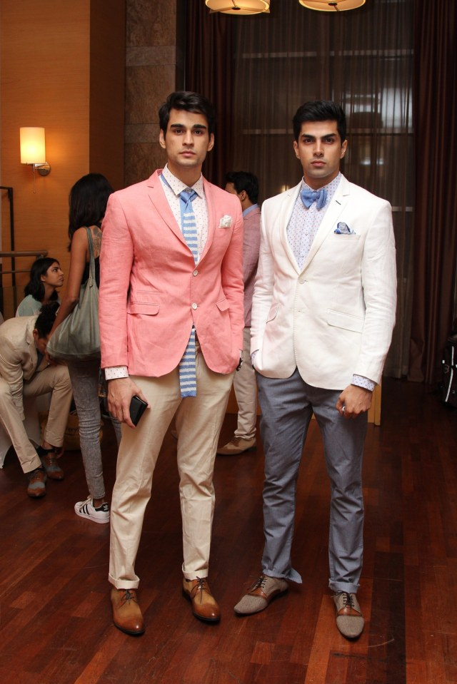 Van Heusen Spring summer 2016 collection  at Day  1 fittings for Van Heusen + GQ Fashion Nights _1