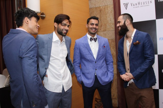 Van Heusen Spring summer 2016 collection  at Day  1 fittings for Van Heusen + GQ Fashion Nights _3