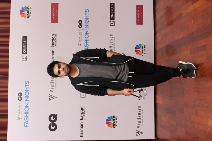 Dhruv Kapoor - Van Heusen GQ Fashion Nights Fittings Day 2