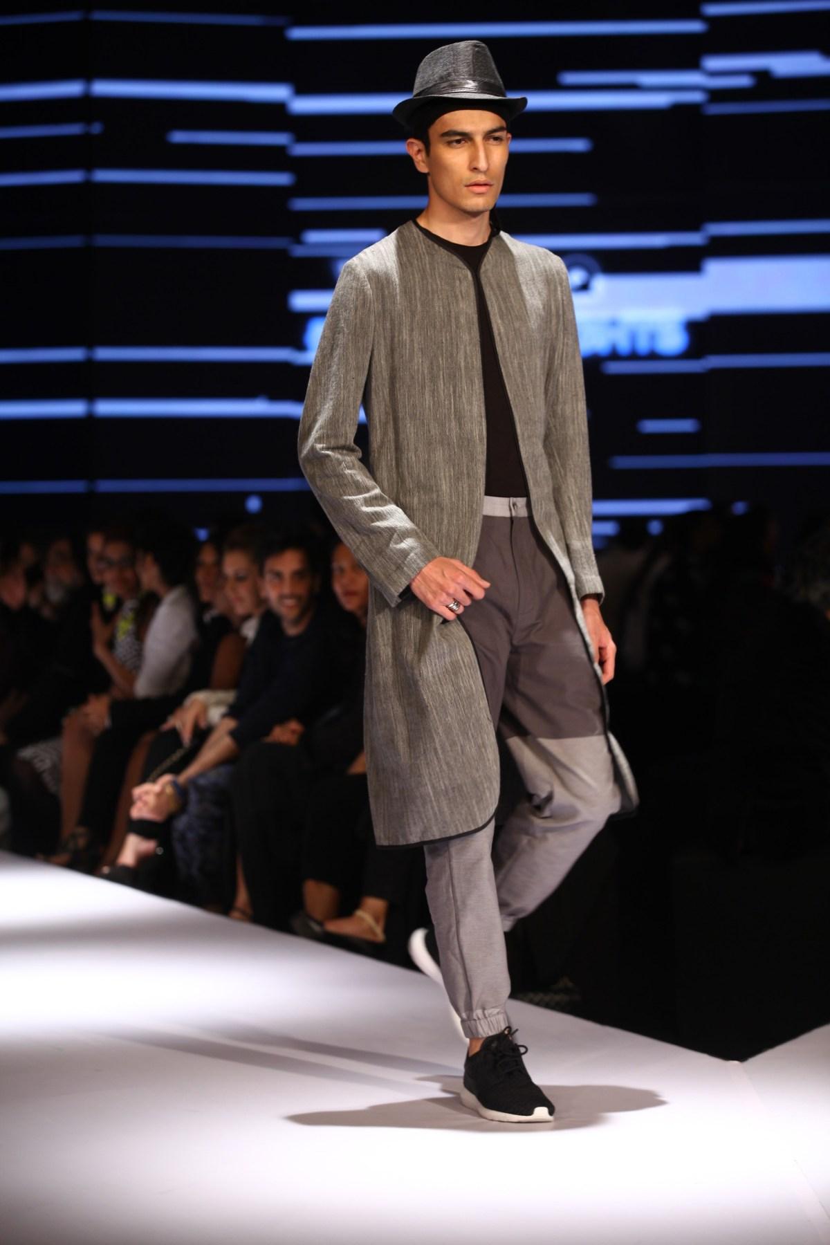 Model in Ujjawal Dubey on Day 2 of Van Heusen + GQ Fashion Nights (4)