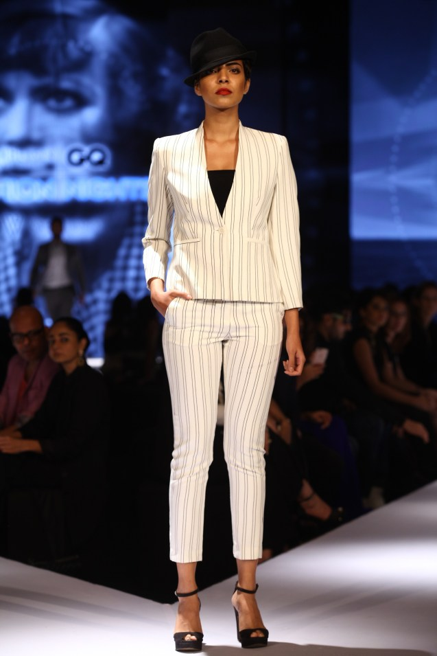 Model in Van Heusen collection on Day 2 of Van Heusen + GQ Fashion Nights 2015_1