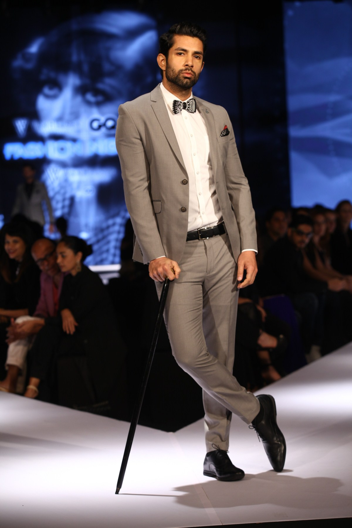 Model in Van Heusen collection on Day 2 of Van Heusen + GQ Fashion Nights 2015_2