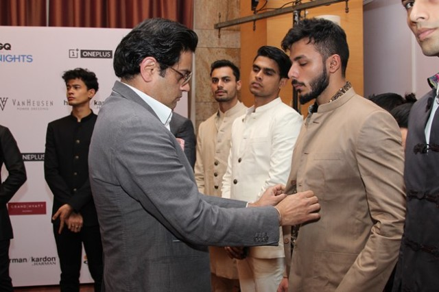 Raghavendra Rathore - Van Heusen GQ Fashion Nights Fittings Day 2_1
