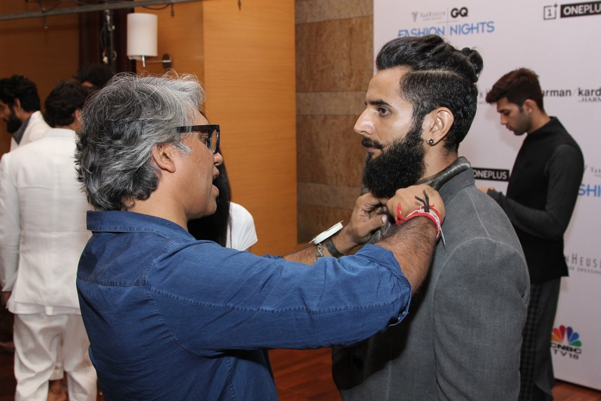 Rajesh Pratap Singh - Van Heusen GQ Fashion Nights Fittings Day 2_1