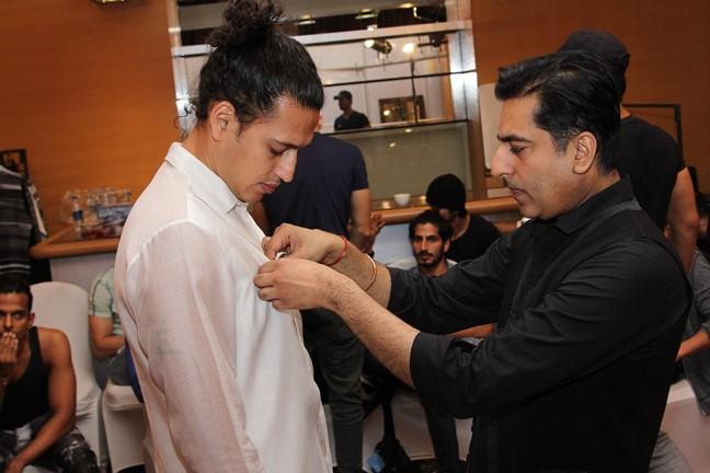 Rohit and Rahul - Van Heusen GQ Fashion Nights Fittings Day 2_1