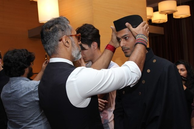 Shantanu and Nikhil - Van Heusen GQ Fashion Nights Fittings Day 2