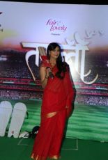 Dharaa aka Anuja Sathe poses for the camera at the press launch of Star Plus's new show Tamanna