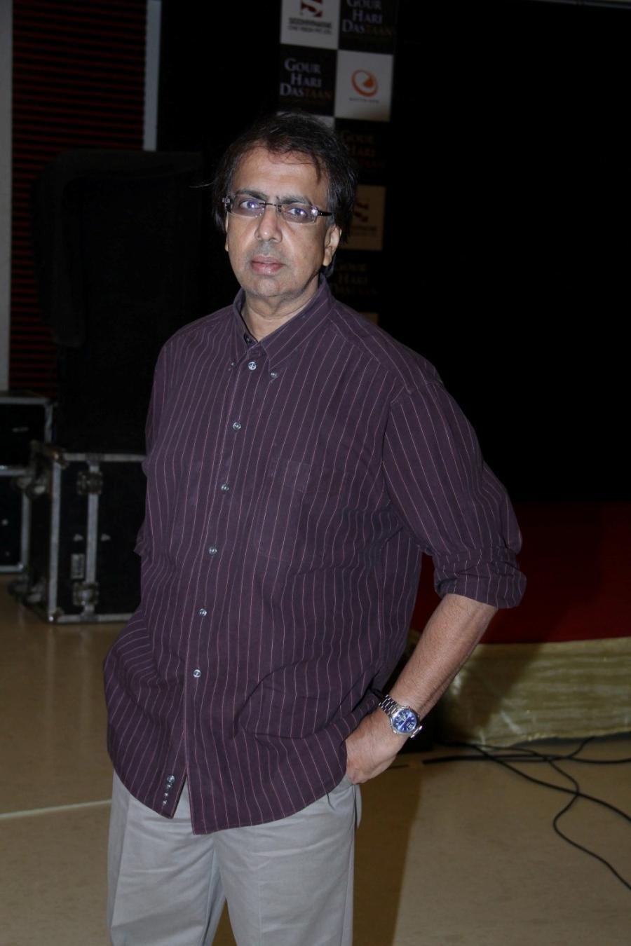 Mumbai: Filmmaker Anant Mahadevan during the music launch of the film Gour Hari Dastaan in Mumbai, on July 31, 2015. (Photo: IANS)