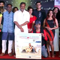 Nana Patekar,Priyanshu chatterjee,Abhishek Ray,Shreya Narayan,Shekhar S Jha,Bhumi Trivedi,Shruti Marathe at audio release of film Wedding Anniversary