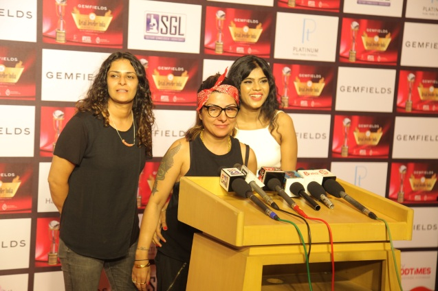 Hard Kaur at the 13th Gemfields Retail Jeweller India Awards 2017