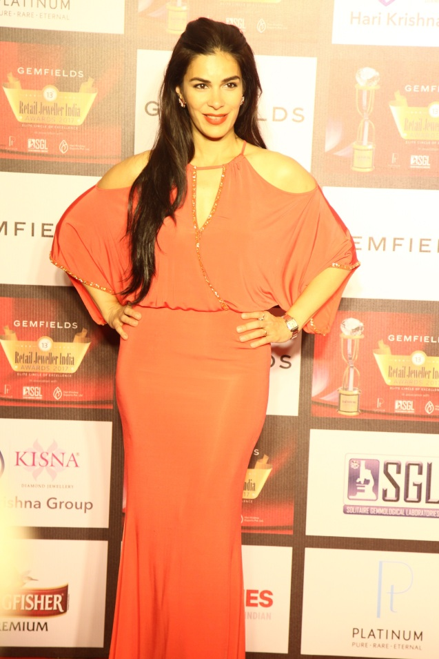 Namrata Baruwa Shroff at the 13th Gemfields Retail Jeweller India Awards 2017